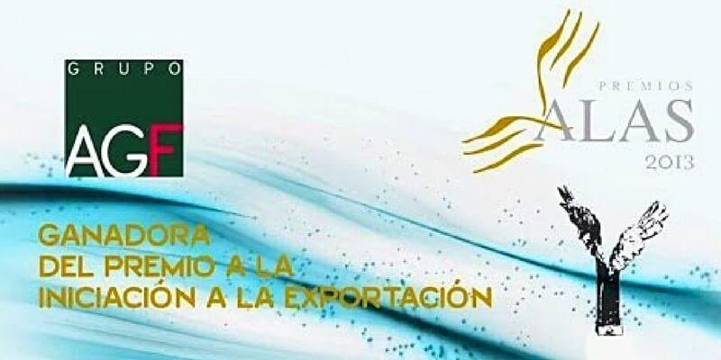 AGF recibe premio por iniciación a la exportación