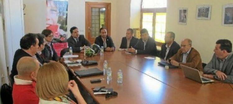 Junta visita las oficinas de AGF Sandía Fashion