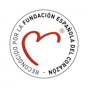 sello reconocido Fundación Española del Corazón
